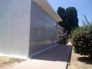 Loculi cimiteriali con apertura frontale