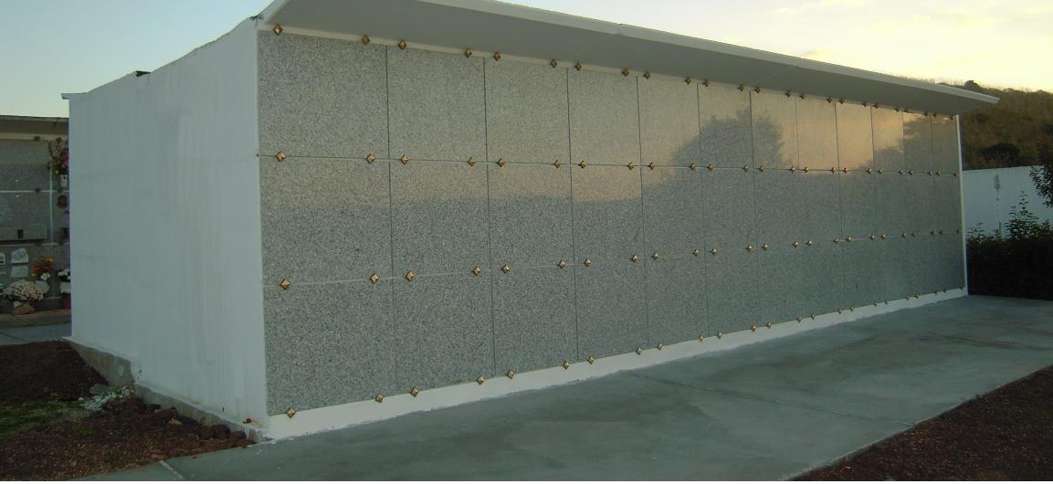 Loculi cimiteriali prefabbricati fornitura e posa in opera in tutta la Sardegna