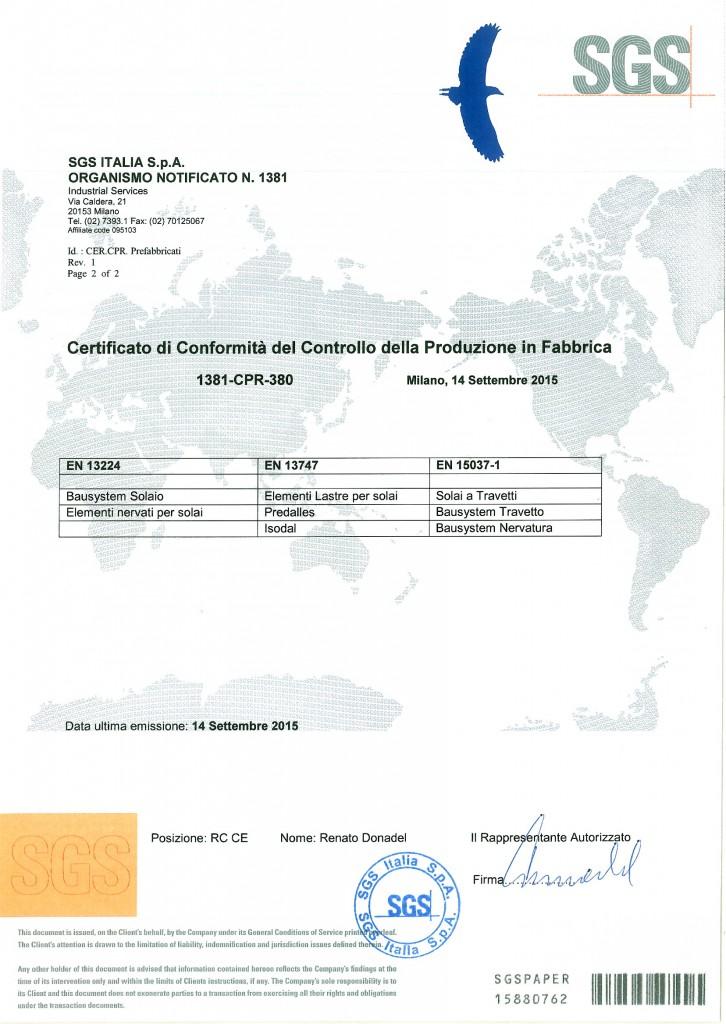 Certificazione FPC